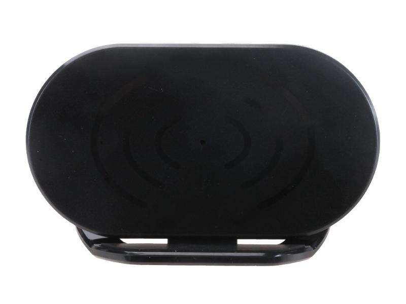 Держатель настольный OltraMax 4-7-inch с функцией беспроводной зарядки Black OM-H-214