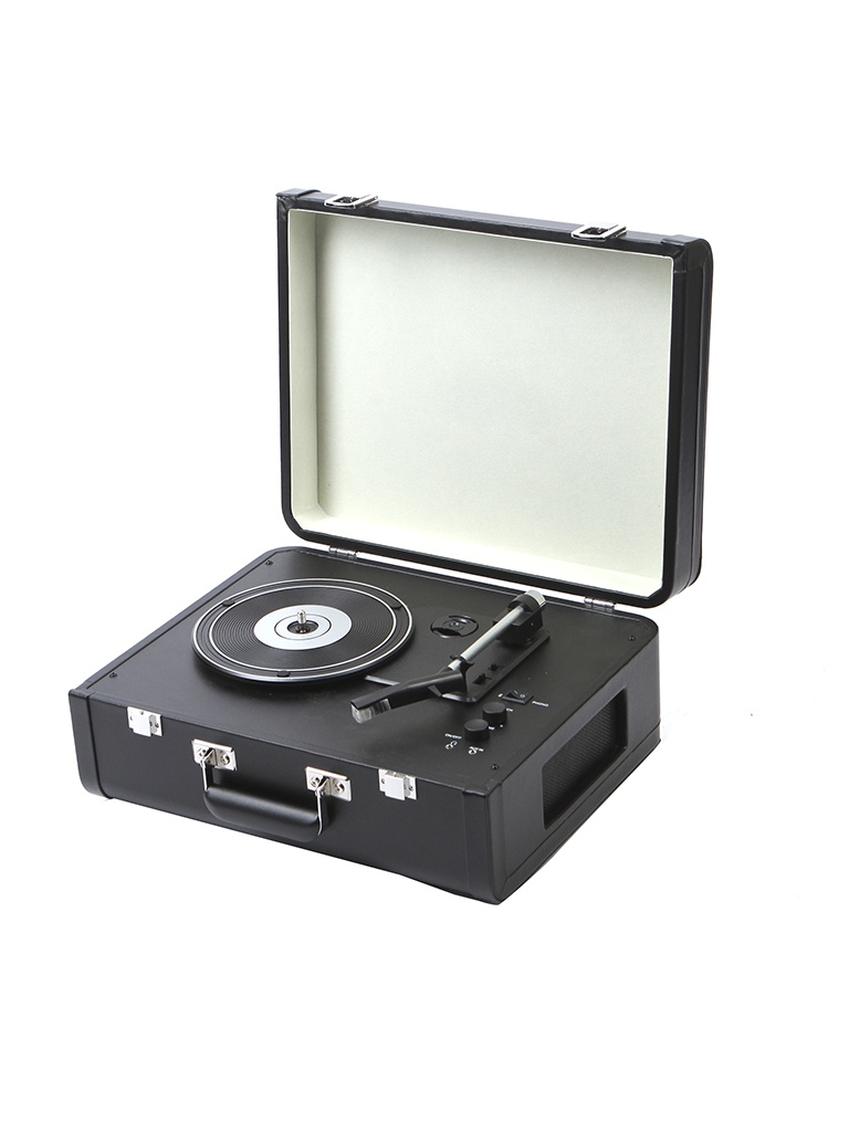 Проигрыватель Crosley Portfolio Portable Black CR6252A-BK — Portfolio Portable