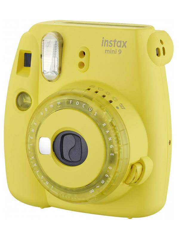Фотоаппарат Fujifilm Instax Mini 9 Clear Yellow цена и фото