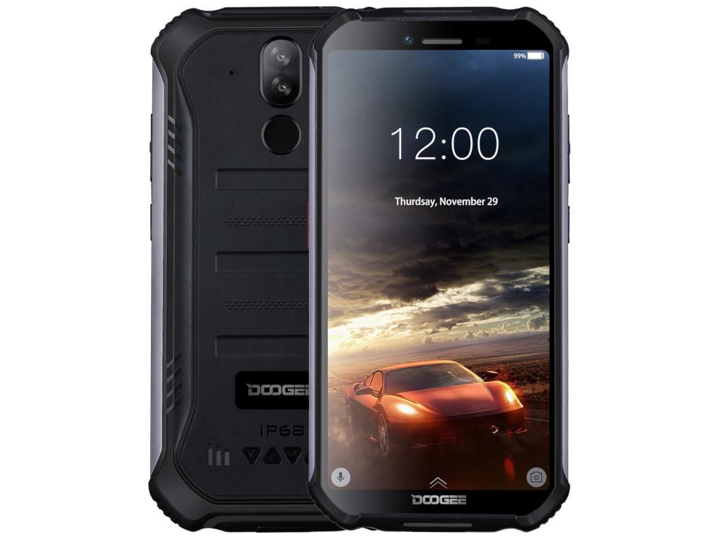 Сотовый телефон DOOGEE S40 Mineral Black сотовый телефон senseit p101 black
