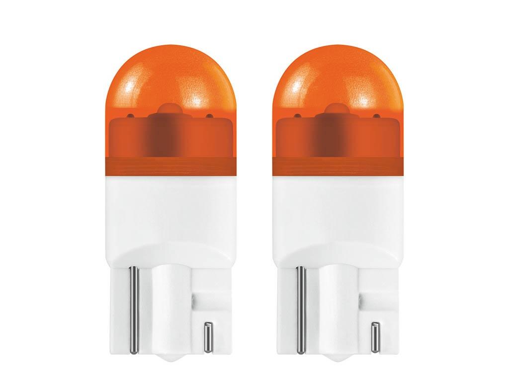 Лампа Osram WY5W 12V-1W W2,1x9,5d 2шт Amber 2855YE-02B