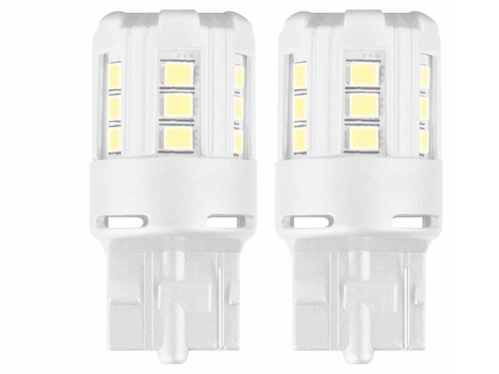 Лампа Osram W21W 12V-LED 2,5W W3x16d 2шт Cool White 7705CW-02B
