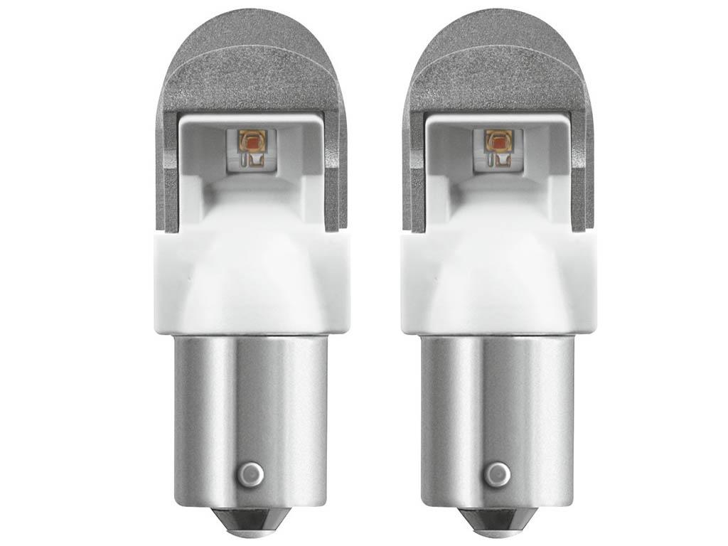 Лампа Osram PY21W 12V-LED 2,0W BAU15s 2шт Amber 7557YE-02B