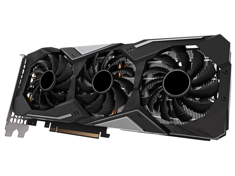 Видеокарта GigaByte GeForce RTX 2060 Super Gaming OC 1650Mhz PCI-E 3.0 8192Mb 14000Mhz 256 bit HDMI 3xDP Type-C GV-N206SGAMING OC-8GC