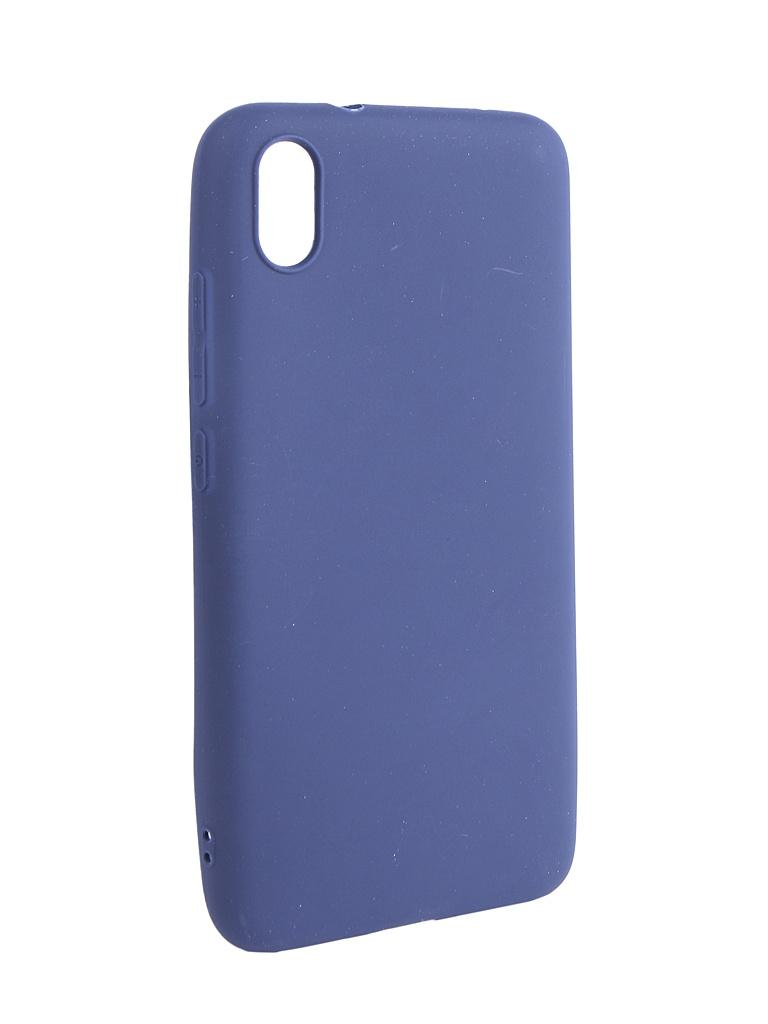 Аксессуар Чехол Neypo для Xiaomi Redmi 7A Soft Matte Dark Blue NST12970 аксессуар чехол neypo для xiaomi redmi 7 dark blue nbc12822