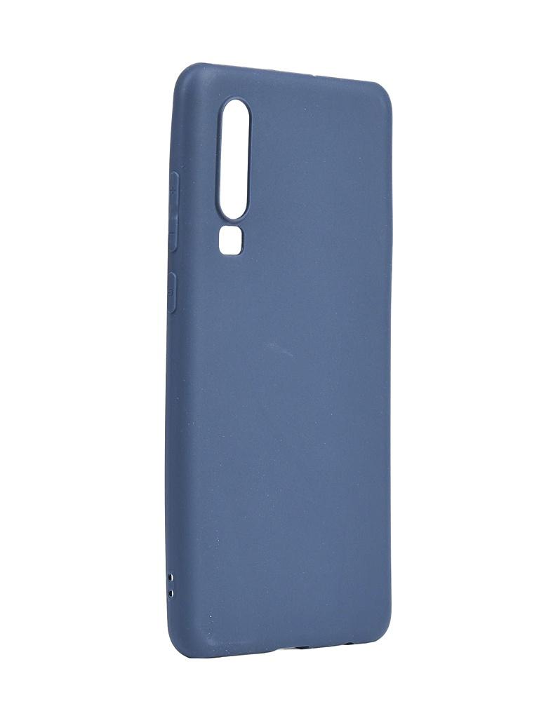 Аксессуар Чехол Neypo для Huawei P30 Soft Matte Dark Blue NST7193 аксессуар