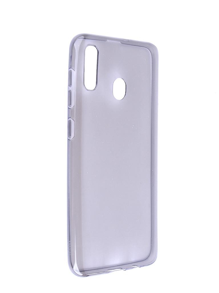 Аксессуар Чехол Neypo для Samsung Galaxy A30 2019 Silicone Transparent-Grey NST11504 аксессуар
