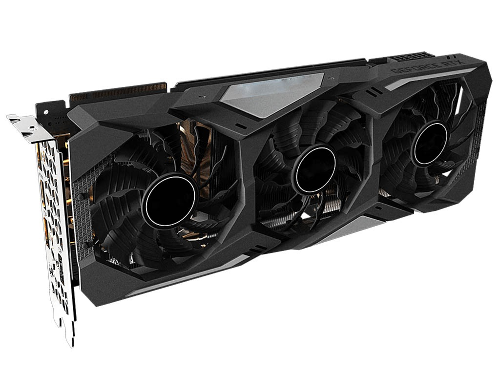 Видеокарта GigaByte GeForce RTX 2070 Super Gaming OC 1770Mhz PCI-E 3.0 8192Mb 14000Mhz 256 bit HDMI DP Type-C GV-N207SGAMING OC-8GC