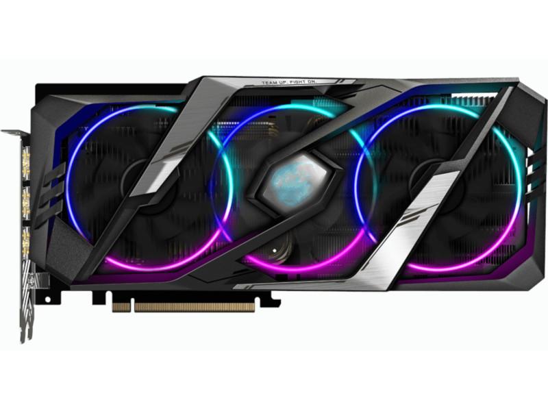 Видеокарта GigaByte Aorus GeForce RTX 2060 Super 1650Mhz PCI-E 3.0 8192Mb 14000Mhz 256 bit HDMI DP Type-C GV-N206SAORUS-8GC