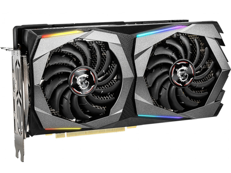 Видеокарта MSI GeForce RTX 2060 1695Mhz PCI-E 3.0 8192Mb 14000Mhz 256 bit HDMI 3xDP RTX 2060 SUPER GAMING X
