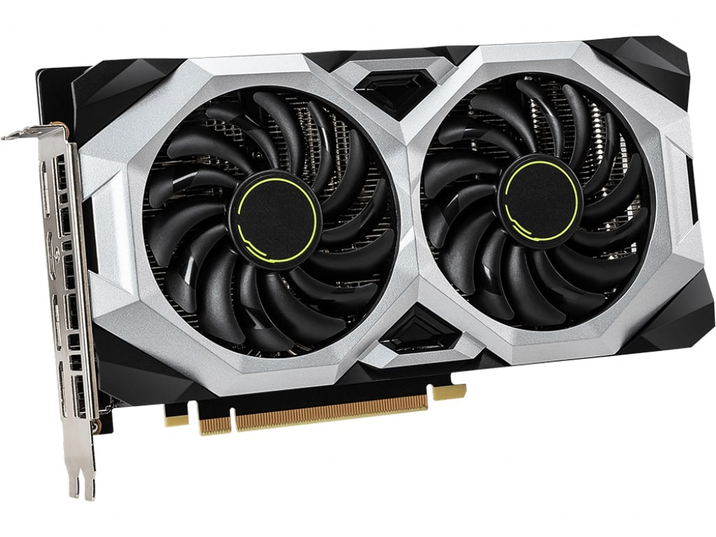 Видеокарта MSI GeForce RTX 2060 1680Mhz PCI-E 3.0 8192Mb 14000Mhz 256 bit HDMI 3xDP SUPER VENTUS OC 8GB