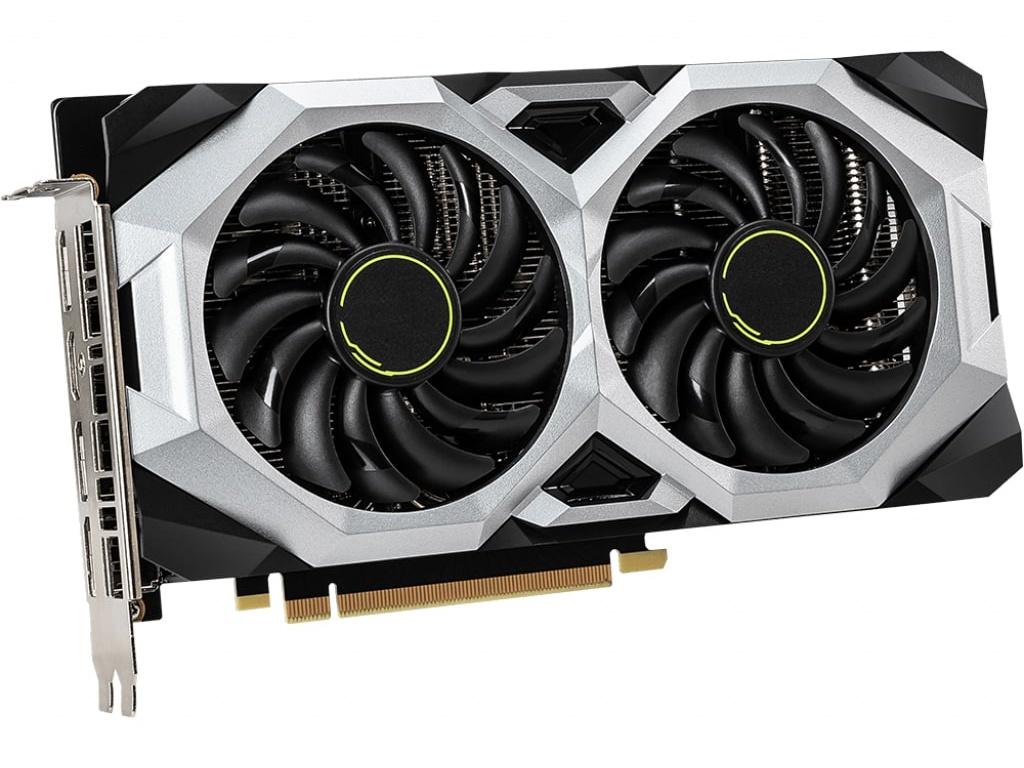 Видеокарта MSI GeForce RTX 2060 1680Mhz PCI-E 3.0 8192Mb 14000Mhz 256 bit HDMI 3xDP SUPER VENTUS OC 8GB / v1