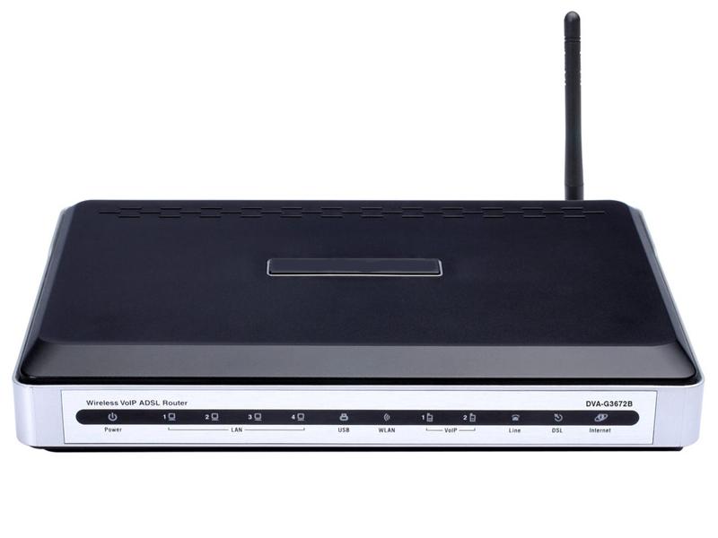цена на Wi-Fi роутер D-Link DVA-G3672B