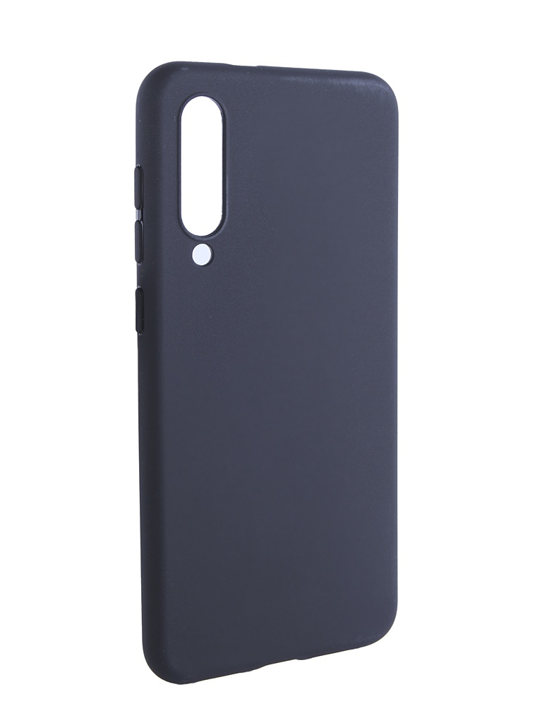 Аксессуар Чехол Brosco для Xiaomi Redmi MI 9 SE Black Matte XM-MI9SE-COLOURFUL-BLACK