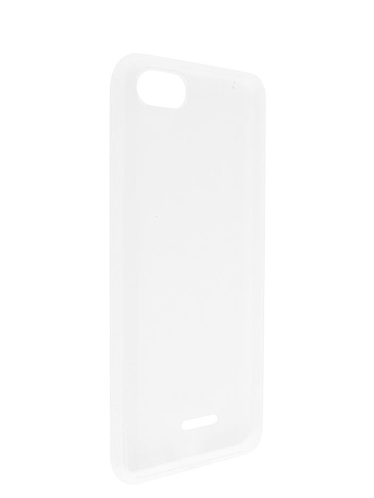 Чехол Brosco для Xiaomi Redmi 6A Silicone Transparent XM-R6A-TPU-TRANSPARENT