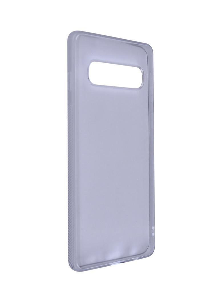 Чехол Brosco для Samsung Galaxy S10 Silicone Black SS-S10-TPU-BLACK