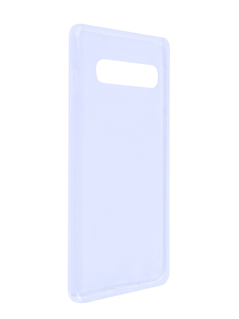 Чехол Brosco для Samsung Galaxy S10 Silicone Transparent SS-S10-TPU-TRANSPARENT
