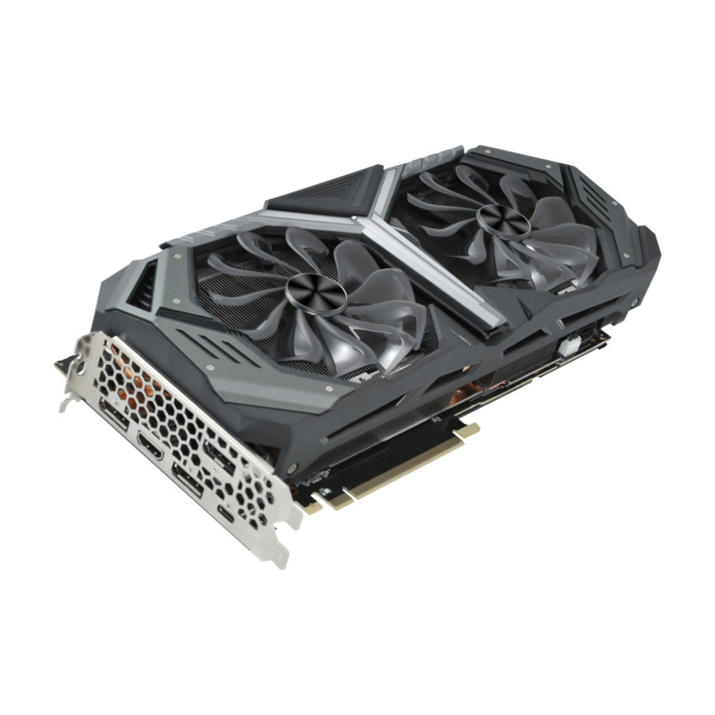 Видеокарта Palit GeForce RTX 2070 Super GameRock 1605Mhz PCI-E 3.0 8192Mb 14000Mhz 256 bit DVI HDMI 3xDP NE6207S020P2-1040G