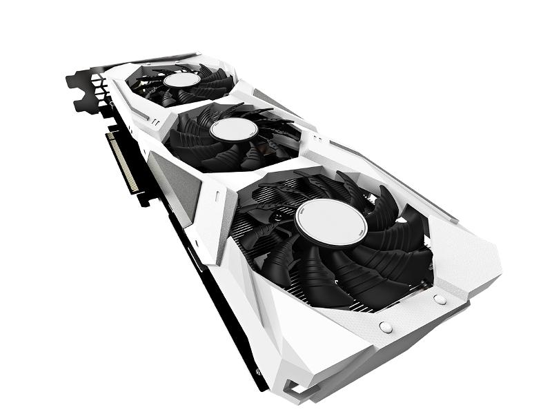 Видеокарта Gigabyte GeoForce RTX 2060 Gaming OC Pro White 1830Mhz PCI-E 3.0 6144Mb 14000Mhz 192 bit HDMI 3xDP GV-N2060GAMINGOC PRO WHITE-6GD