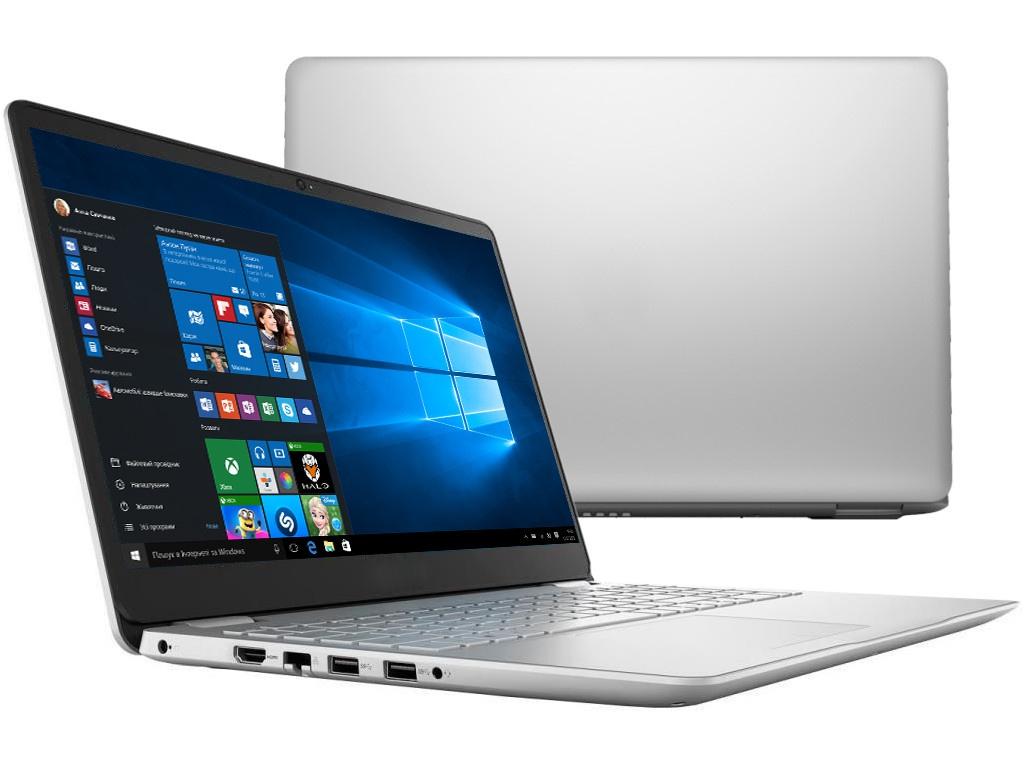 Ноутбук Dell Inspiron 5584 Silver 5584-3474 (Intel Core i3-8145U 2.1 GHz/4096Mb/1000Gb/Intel HD Graphics/Wi-Fi/Bluetooth/Cam/15.6/1920x1080/Windows 10 Home 64-bit)