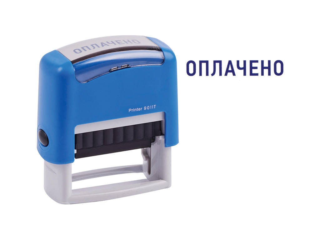Штамп Berlingo слово Оплачено Printer 9011T 38x14mm BSt_82602 276543