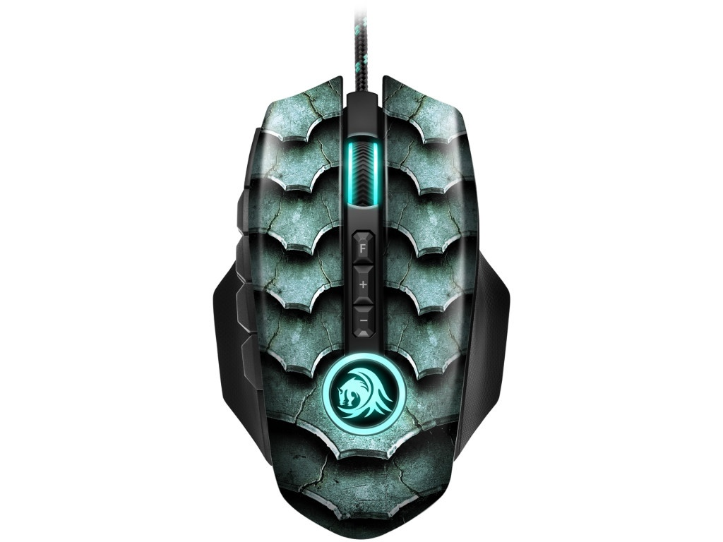 Мышь Sharkoon Drakonia II Green