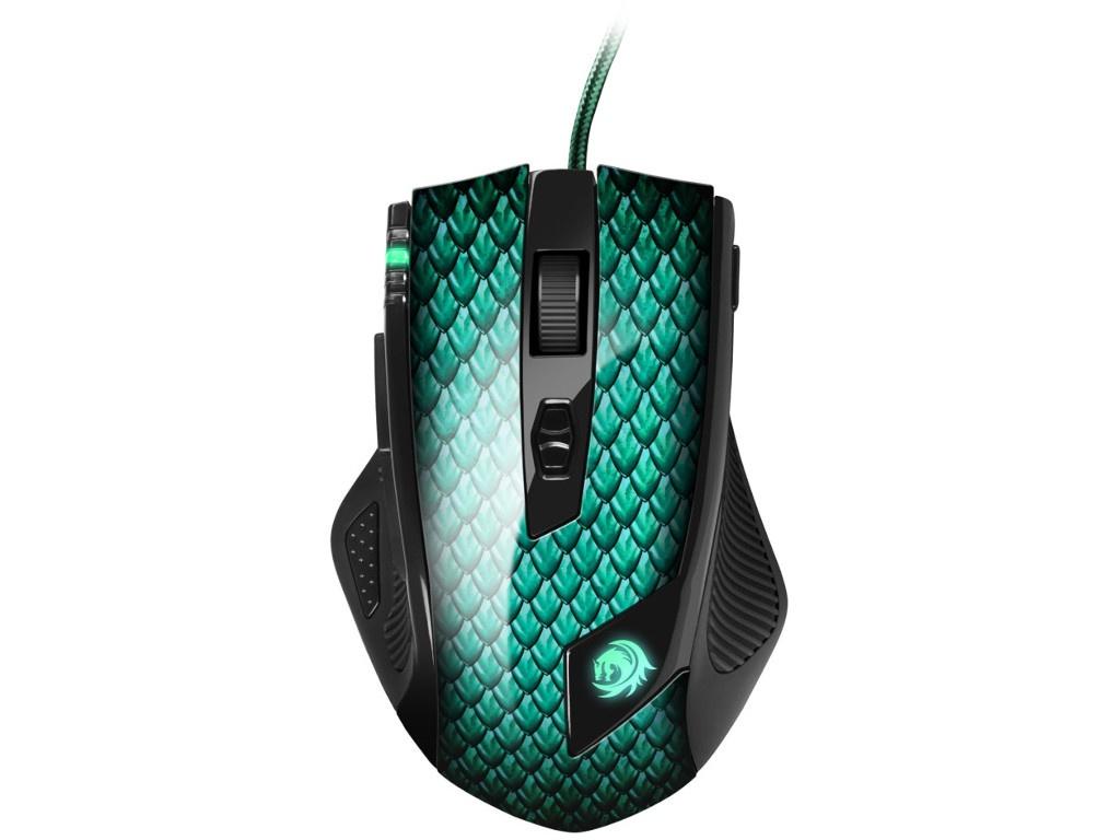 Мышь Sharkoon Drakonia Green