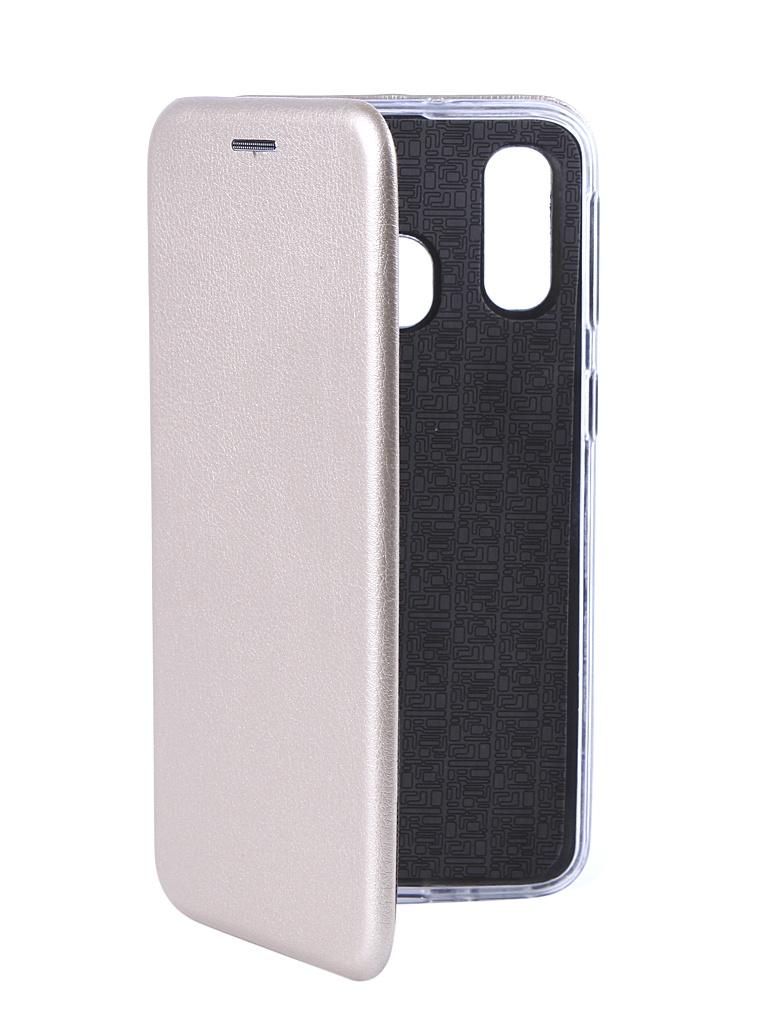 Чехол Svekla для Samsung Galaxy A40 A405F 3D Gold TRD-SVSAMA405F-GOLD