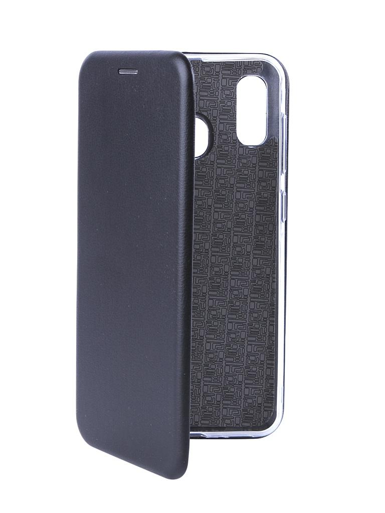 Аксессуар Чехол Svekla для Samsung Galaxy A30 A305F 3D Black TRD-SVSAMA305F-BL