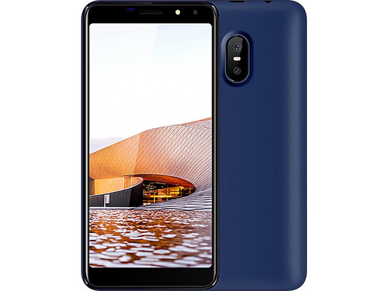 Сотовый телефон Haier Alpha A6 Blue сотовый телефон haier p10 td0026346ru