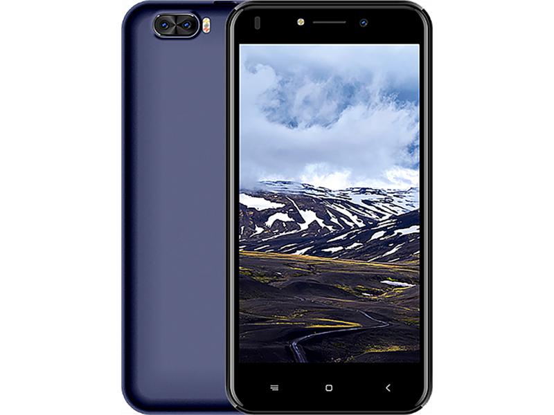Сотовый телефон Haier Alpha A3 Blue сотовый телефон haier p10 td0026346ru