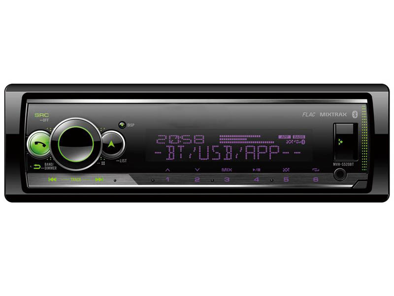 Автомагнитола Pioneer Flash MVH-S520BT