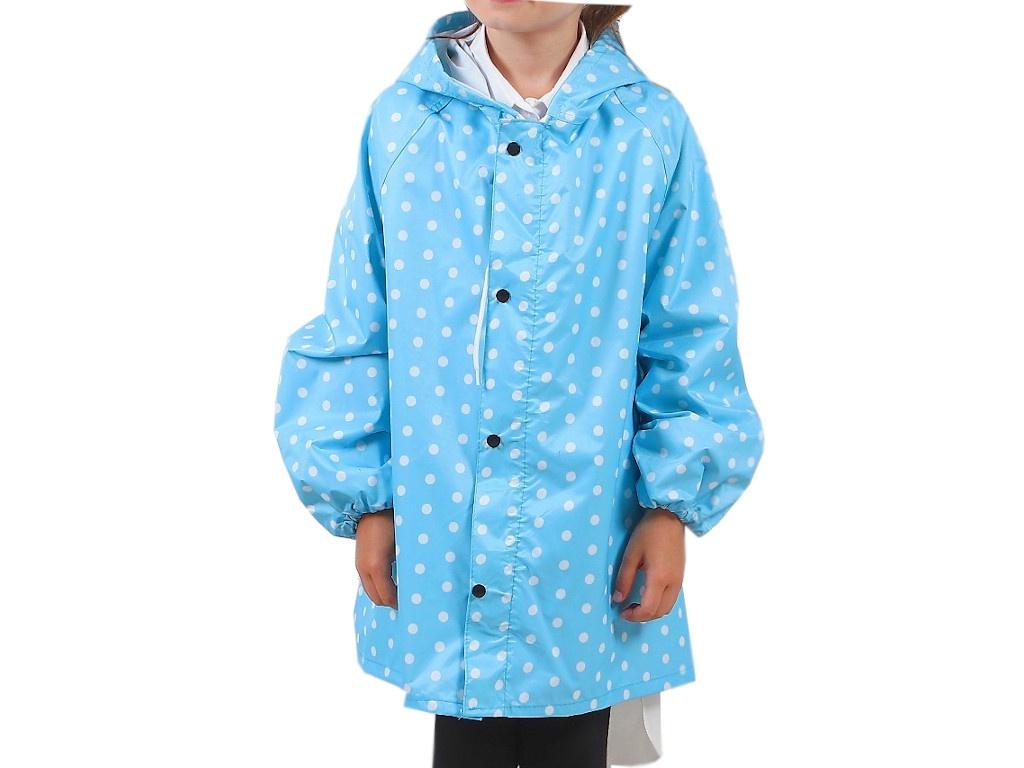 Дождевик детский СИМА-ЛЕНД Горошек р.L Light Blue 3588713 самокат сима ленд ot 004 blue 134327
