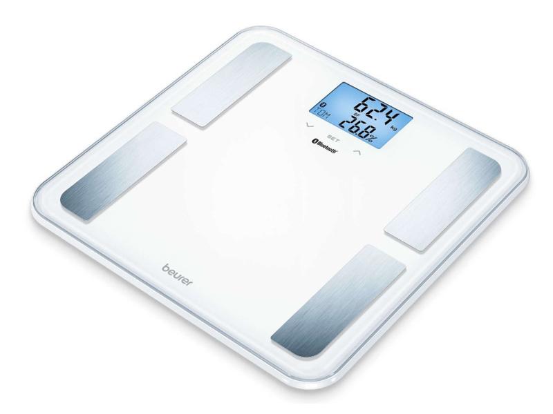 Весы напольные Beurer BF850 White