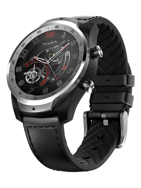 Умные часы Ticwatch Pro Liquid Metal Silver