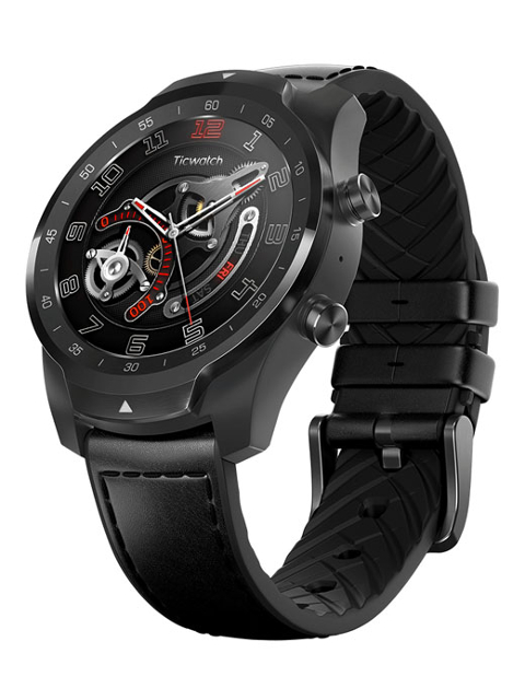 Умные часы Ticwatch Pro Shadow Black