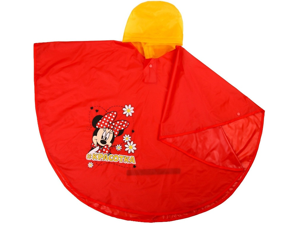 Дождевик детский Disney Минни Маус Красотка р.M 4066741