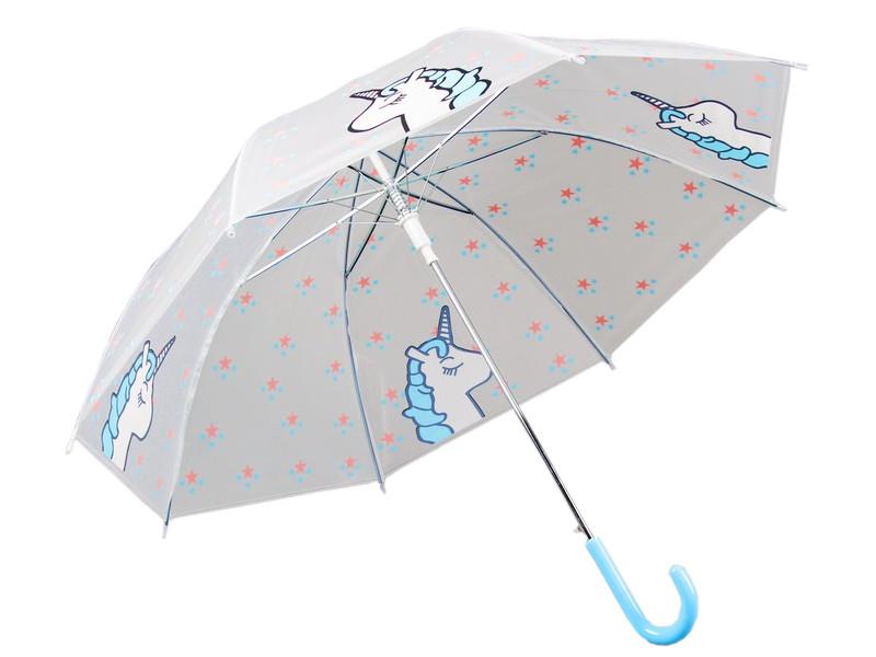 Зонт СИМА-ЛЕНД Единорог Light Blue 3623426