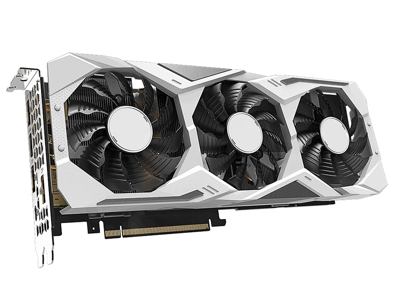 Видеокарта GigaByte GeForce RTX 2070 Super Gaming OC White 1770Mhz PCI-E 3.0 8192Mb 14000Mhz 256-bit HDMI 3xDP Type-C GV-N207SGAMINGOC WHITE-8GC