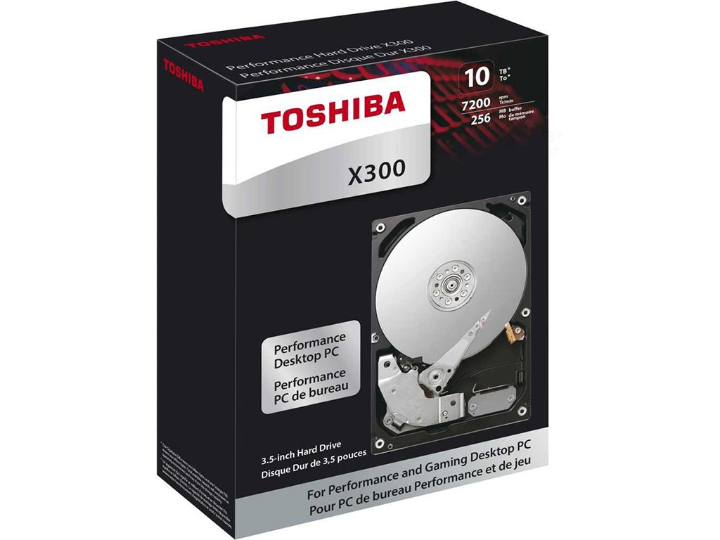 Жесткий диск Toshiba HDWR11AEZSTA 10Tb