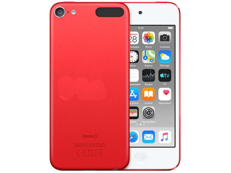 Плеер Apple iPod touch 7 256GB Red