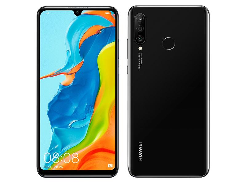 Сотовый телефон Huawei P30 Lite 4Gb/128Gb Midnight Black New Выгодный набор + серт. 200Р!!!