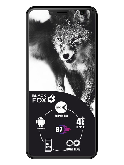 Сотовый телефон Black Fox B7 Black телефон
