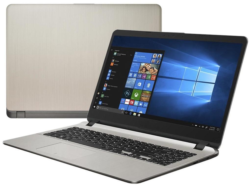 Ноутбук ASUS F507UF-EJ393T (Intel Core i3-7020U 2.3 GHz/6144Mb/1Tb/nVidia GeForce MX130 2048Mb/Wi-Fi/Bluetooth/Cam/15.6/1920x1080/Windows 10) ого pc home3d intel core i3 7100 3 9ghz 4gb 1tb 2048mb nvidia gtx 1050 dvd rw wi fi usb 3 0 600w win10 home 64bit