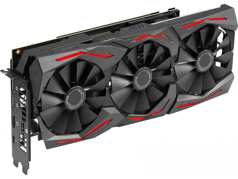 Видеокарта ASUS GeForce RTX 2060 SUPER OC 1470Mhz PCI-E 3.0 8192Mb 14000Mhz 256 bit USB-C 2xDP 2xHDMI ROG-STRIX-RTX2060S-O8G-GAMING