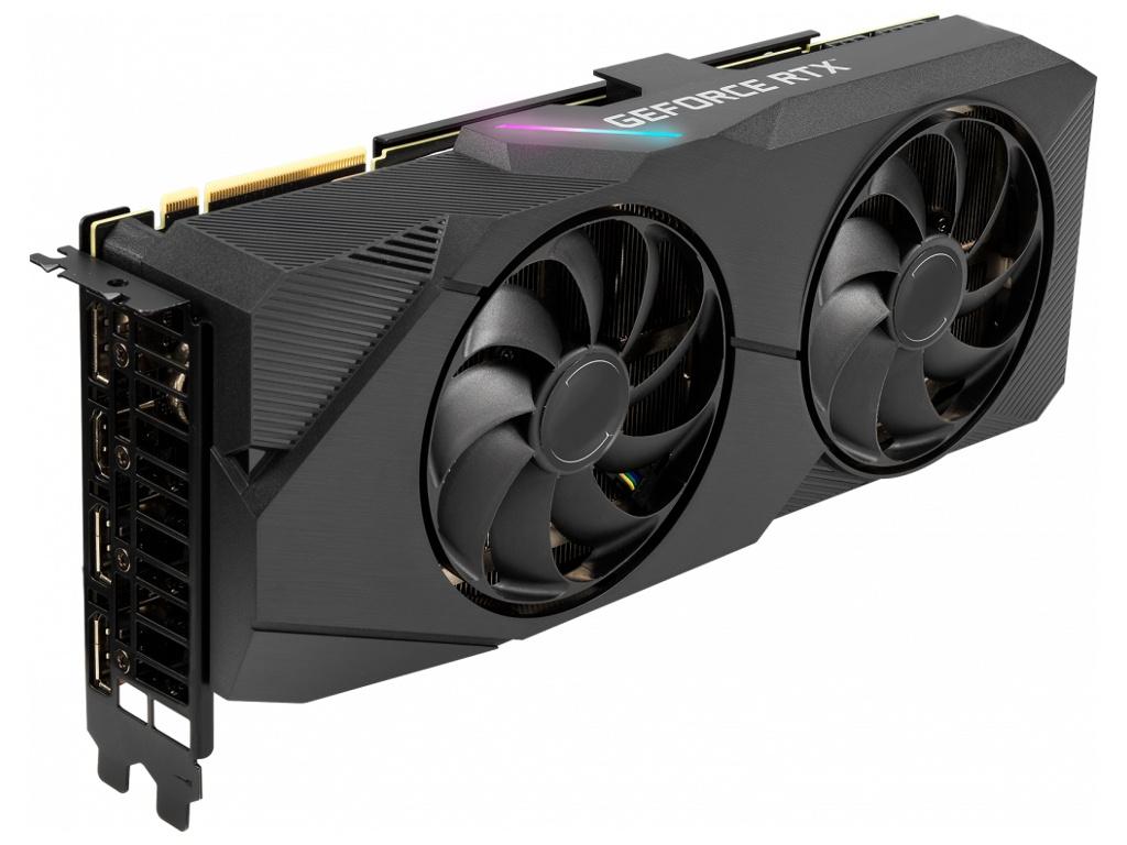 Видеокарта ASUS GeForce RTX 2070 DUAL EVO 1410Mhz PCI-E 3.0 8192Mb 14000Mhz 256 bit 2xDP 2xHDMI DVI HDCP DUAL-RTX2070S-O8G-EVO