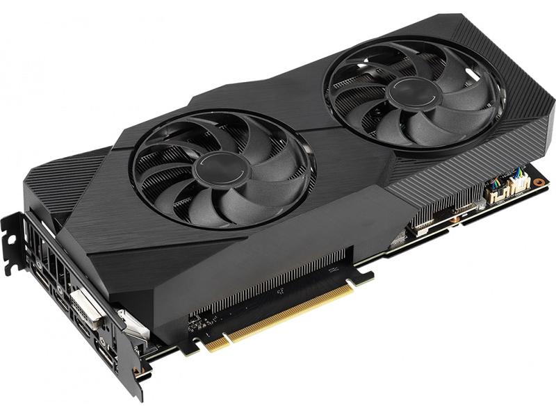 Видеокарта ASUS GeForce RTX 2060 SUPER EVO OC 1470Mhz PCI-E 3.0 8192Mb 14000Mhz 256 bit DVI 2xDP 2xHDMI DUAL-RTX2060S-O8G-EVO