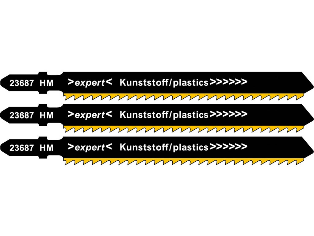 Пилка Metabo T301CHM HM для стеклопластика 3шт 623687000
