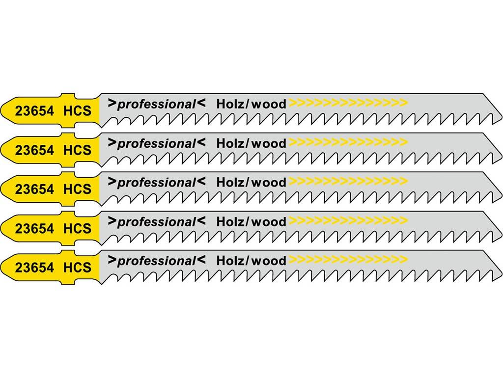 Пилка Metabo T301CD HCS для дерева 5шт 623654000