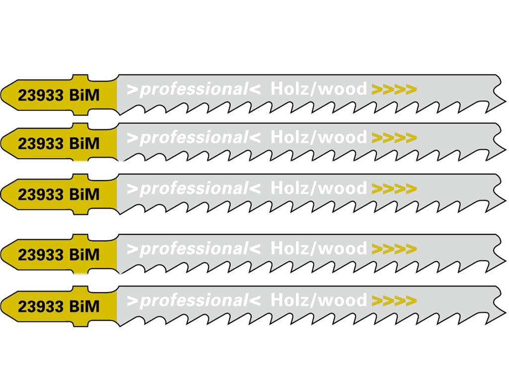 Пилка Metabo T144DF BiM для дерева 5шт 623933000